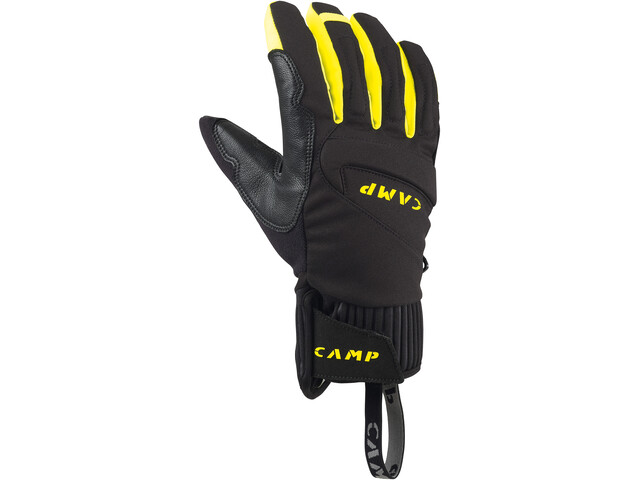 Camp G Hot Dry Käsineet, black/yellow